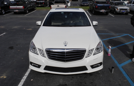 Mercedes (front) detailed by ACME Mobile Detail