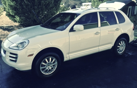 Porsche Cayenne (side shot) detailed by ACME Mobile Detail